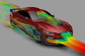 福特官方公布野马GT500极速290km/h的秘密!