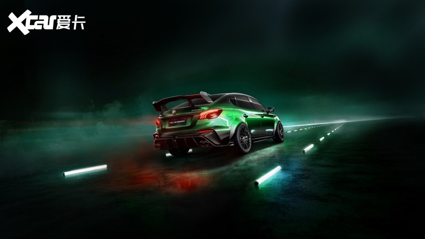 专属定制,合法上路,上汽名爵推出个性改装量产车MG6 XPOWER