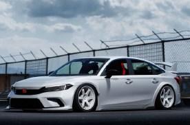 本田思域R概念车渲染图来袭 造型设计经典