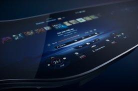 奔驰公布EQS中控屏,连屏长度1米41,内嵌最新MBUX系统