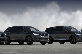 全员悉数到齐,四种车漆可选,林肯发布SUV系列单色版