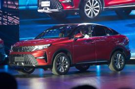 近14万,车载微信+轿跑SUV造型,对标吉利星越、哈弗F7x