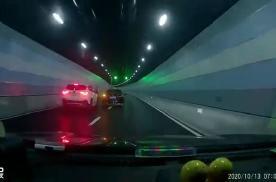 一人刑拘一人行拘! 上海龙耀路隧道斗气车司机均被依法处理