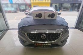 台州慧声名爵6汽车音响改装JBL两分频,大麦隔音