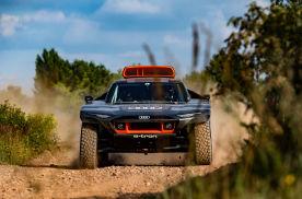 奥迪测试增程式电动赛车RS Q e-tron,欲用其征战2022达喀尔
