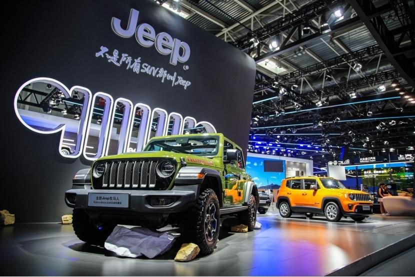 Jeep新能源车型双雄出征,携地表更强SUV家族亮相北京车展