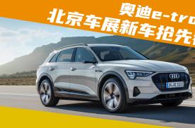 北京车展新车抢先看:首款国产奥迪纯电动车