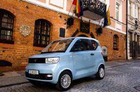 换标宏光MINI EV 海外上市 身价倍增