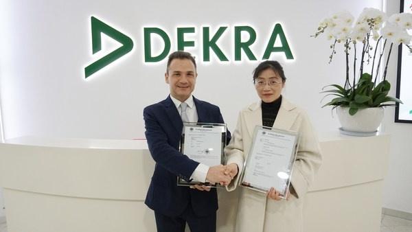 DEKRA德凯助力远东电缆获国内首张EV车内高压电缆欧洲E-MARK型式认证证书(E1)