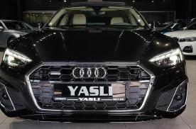 新款奥迪A5四门轿跑车型海外实拍 搭载2.0T柴油发动机