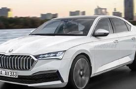 全新斯柯达速派渲染图曝光 新车将于2022年下半年首发