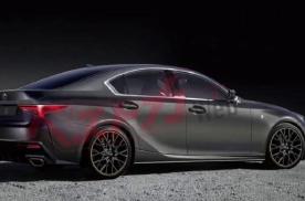 雷克萨斯全新IS 500曝光!或搭载5.0L V8发动机