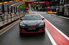 奥迪RS e-tron GT原型车官图发布 搭载三电机