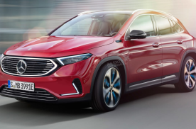 基于GLA打造的奔驰纯电SUV EQA国产化,你接受油改电吗