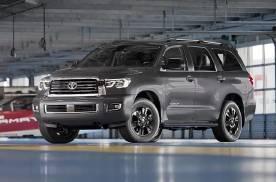 """普拉多""""亲大哥""""5.7L V8+6AT 全尺寸SUV 黑外观"""