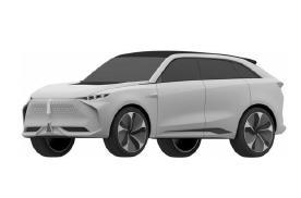 WEY全新SUV专利图曝光,设计语言前卫、高端,很有未来感
