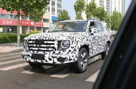哈弗全新SUV谍照曝光 有望于下半年上市