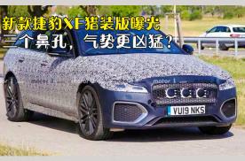 新款捷豹XF猎装版曝光,三个鼻孔,气势更凶猛?