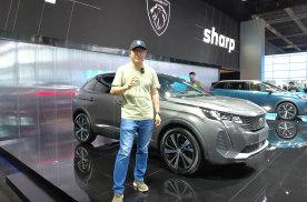 颜值焕新、车标迭代,2021上海车展体验标致新4\5008