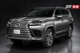 雷克萨斯LX600旗舰SUV发布,小排量香吗?国内会加价多少?