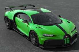 布加迪Chiron Pur Sport车型来了