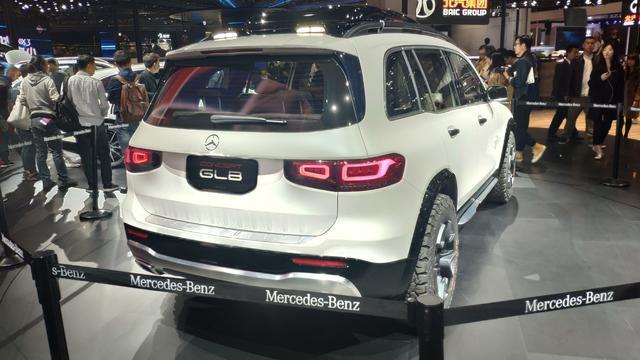 上海车展:奔驰GLB概念车实车