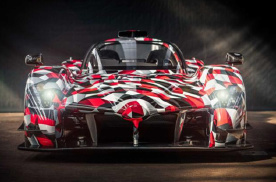 丰田全新超跑亮相勒芒,打造极致空气动力学