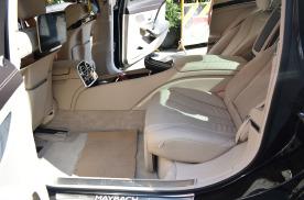 远道而来的三亚朋友 19款迈巴赫S450改装行政马鞍 头等舱