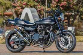 感受改装魅力,川崎Z1摩托车,国外车厂全方位升级