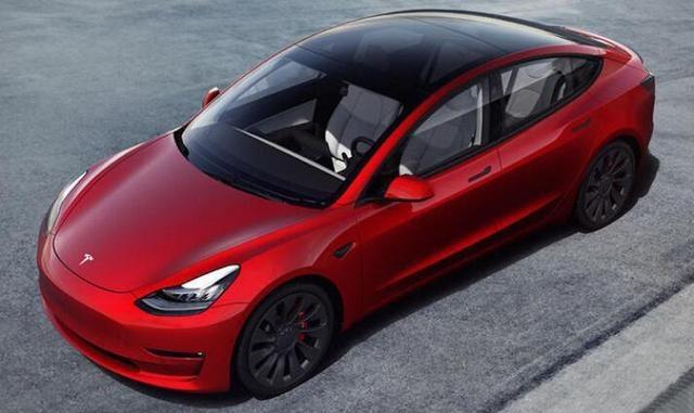 新款特斯拉Model 3海外发布 续航里程进一步提升