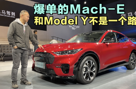爆单的Mach-E和Model Y不是一个路子