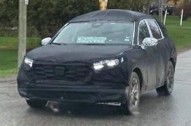 2023款本田CRV伪装车曝光!覆盖厚重伪装 或有三排座椅