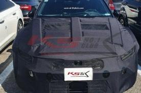 或搭2.5T动力/四出排气 全新起亚K5 GT谍照曝光