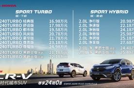 新款东风本田CR-V正式上市 售16.98-27.68万元