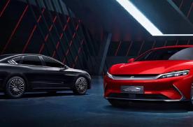和Model S同级别,3.9秒破百,预售23万起的比亚迪汉