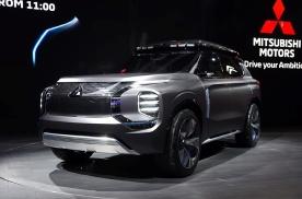 当务实的三菱玩概念车,前脸比现代凶悍,车顶比丰田夸张,狂