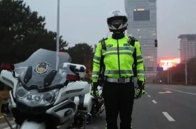 北京交警摩托车配备