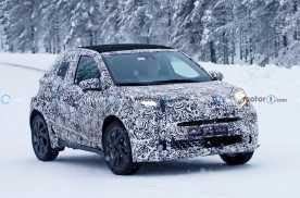 最快有望今年发布 丰田Aygo继任车型谍照