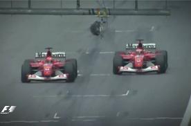 价值100万美金的一脚刹车,疯狂的F1