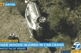 捷尼赛思GV80确认:过高的速度导致老虎伍兹车祸