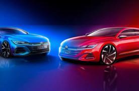轿跑/猎装可选,R版车型加入,新款大众CC设计图曝光