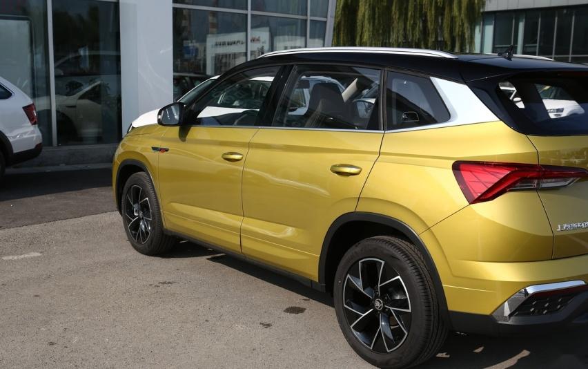 最厚道的德系SUV,入门就配8寸大屏,油耗5.8L,不足9万
