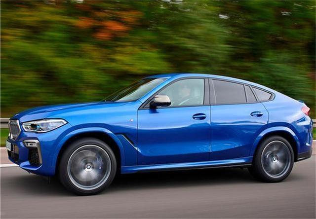 宝马新X6有望11月份上市,超炫外观回头率超高