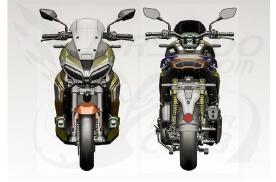 踏板也能越野,本田跨界摩托车ADV350设计草图曝光