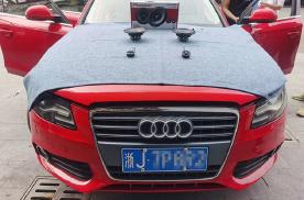 台州慧声奥迪A4汽车音响改装