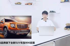 哈弗品牌旗下全新SUV车型B06官图