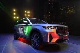 大五座智慧旗舰SUV,标配2.0T+8AT,品质堪比合资