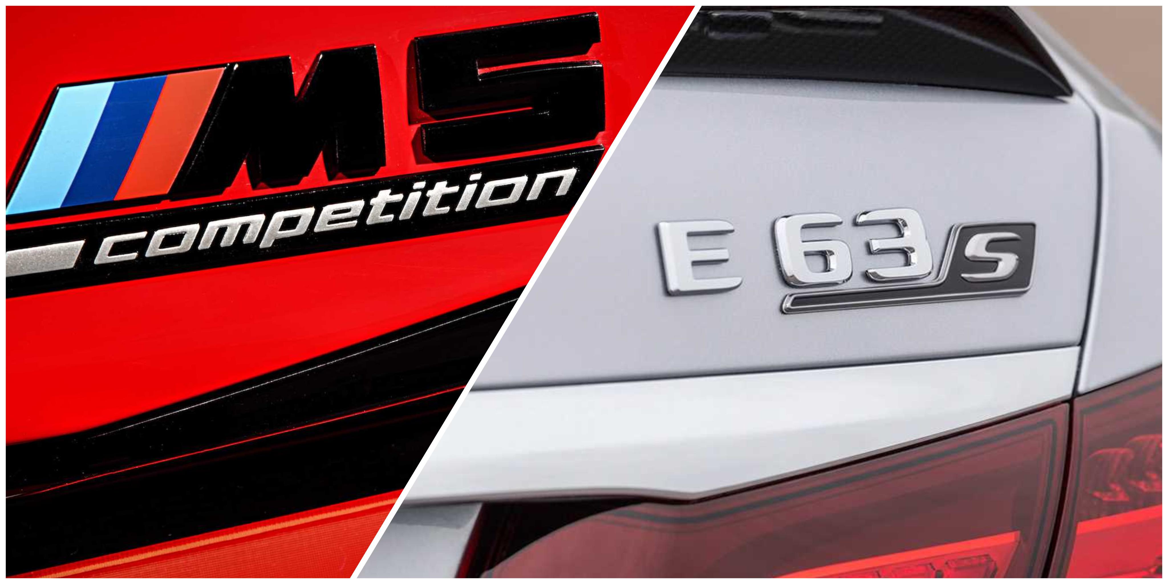 相隔一天发布,M5和AMG E63 S就这么杠上了?