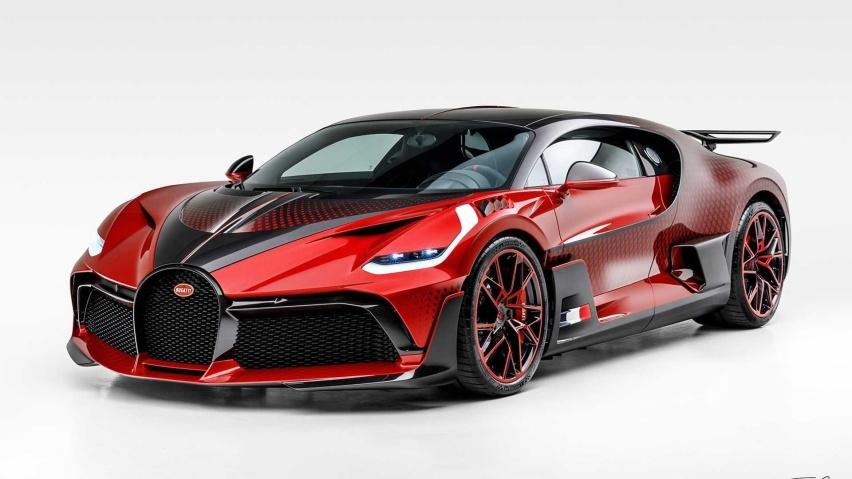 全球限量40台 Bugatti Divo推出特别版车型