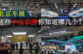 北京车展的这些小众品牌 你知道哪几个?